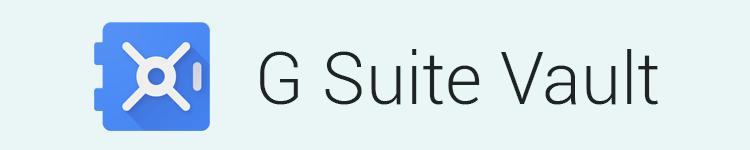 G Suite Vault