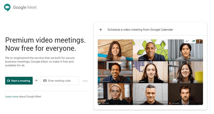 Google Meet Live