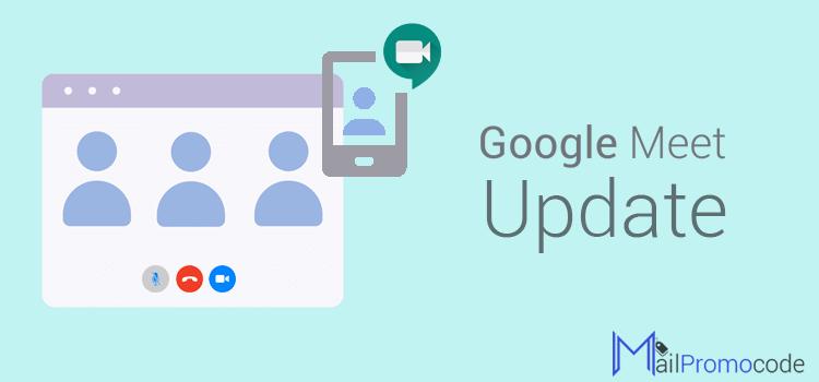 Google Meet Update