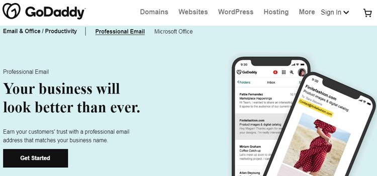 GoDaddy Email Hosting Services