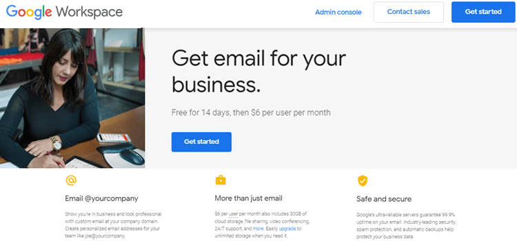 Google Workspace Free Email For Business