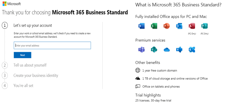 Microsoft 365 Free Email For Business