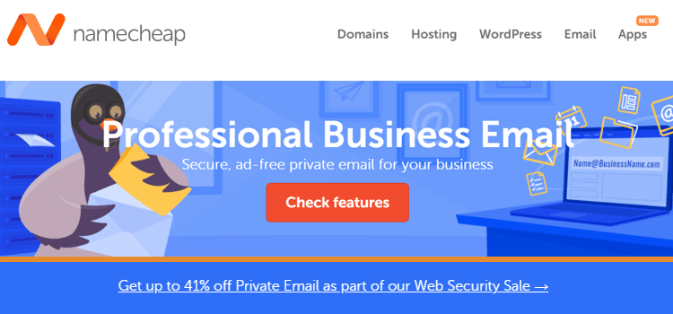 Namecheap Email Hosting Services