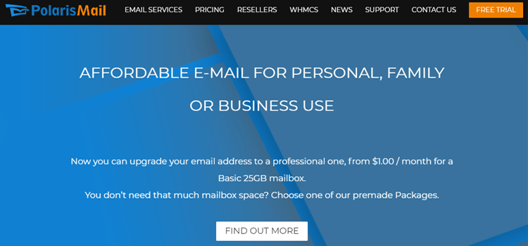 PolarisMail Free Email For Business