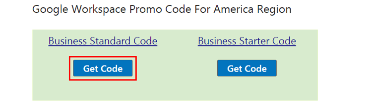 Get The Google Workspace Promo Code