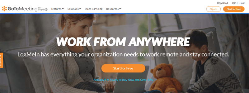 GoToMeeting Business Collaboration Tools